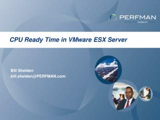 CPU Ready Time in VMware ESX Server