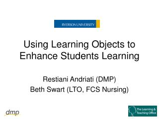 Using Learning Objects to Enhance Students Learning