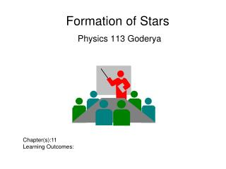 Formation of Stars