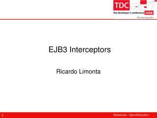 EJB3 Interceptors