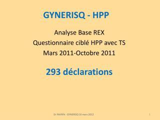 GYNERISQ - HPP