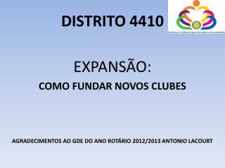 DISTRITO 4410