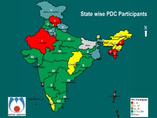 State wise PDC Participants