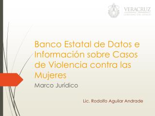 Banco Estatal de Datos e Información sobre Casos de Violencia contra las Mujeres