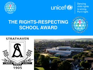 THE RIGHTS-RESPECTING  SCHOOL AWARD