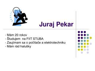 Juraj Pekar