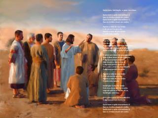 Quão bom, Satisfação, o amor sem Deus Quão bom e quão maravilhoso é Que os irmãos vivam em união;