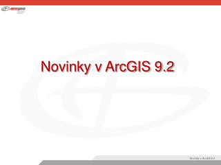 Novinky v ArcGIS 9.2