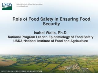 Role of Food Safety in Ensuring Food Security