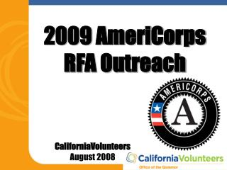 CaliforniaVolunteers August 2008