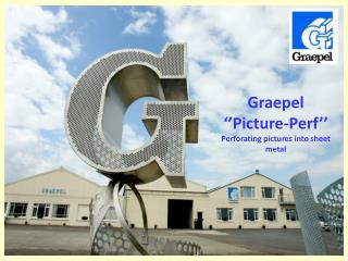 Graepel  ''Picture-Perf''    Perforating pictures into sheet metal
