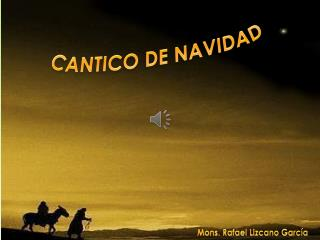 CANTICO DE NAVIDAD