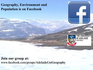 Geography, Environment and Population is on Facebook