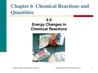 Chapter 6  Chemical Reactions and Quantities