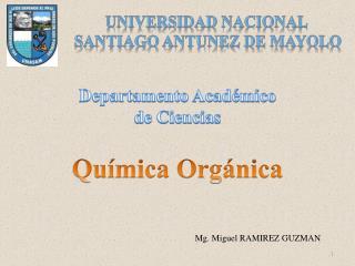 UNIVERSIDAD NACIONAL  SANTIAGO ANTUNEZ DE MAYOLO