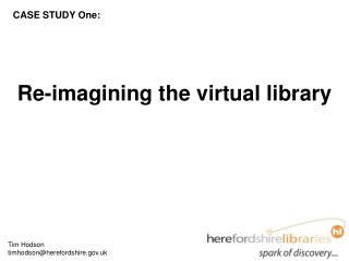 Re-imagining the virtual library