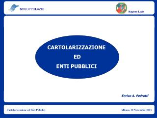 Enrico A. Pedretti