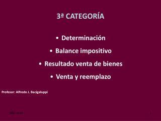 3ª CATEGORÍA