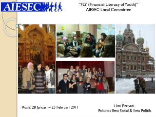 """""""FLY (Financial Literacy of Youth)""""  AIESEC Local Committee"""