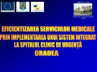 EFICIENTIZAREA SERVICIILOR MEDICALE