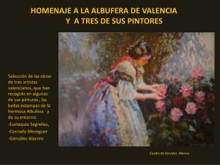 Cuadro de Gonzalez -Alacreu