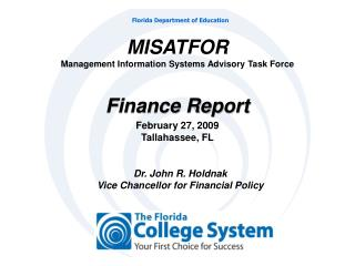 MISATFOR Management Information Systems Advisory Task Force