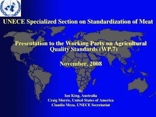 UNECE Specialized Section on Standardization of Meat