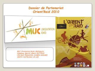 MUC Orientation Raids Multisports Complexe Sportif Albert BATTEUX