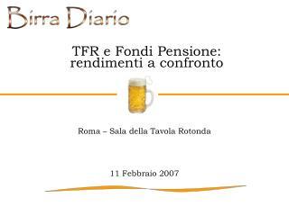 TFR e Fondi Pensione: rendimenti a confronto