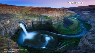 Palouse Falls, Washington State Parks,USA photo by Ivan Meljac