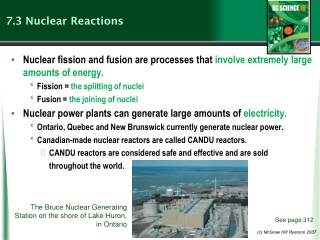 CANDU Reactors: Canadian Nuclear Power Generation