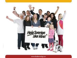 Riksorganisationen Hela Sverige ska leva