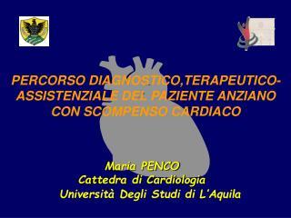 Università Degli Studi di L'Aquila