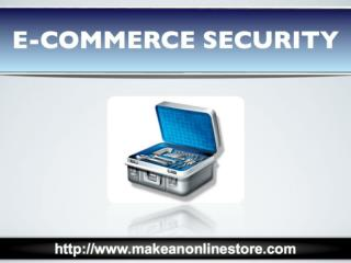 E-commerce Security