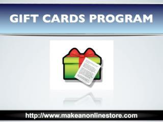 Gift Cards Program