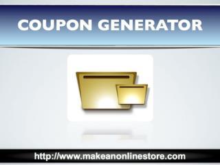 Coupon Generator
