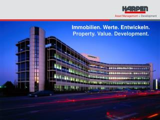 Immobilien. Werte. Entwickeln. Property. Value. Development.