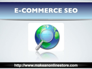 Simple Ecommerce SEO