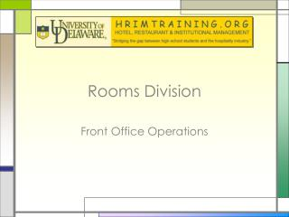 Rooms Division