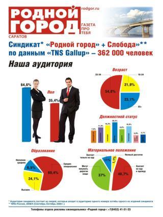 5 причин размещать рекламу в газете «Родной город» и на портале  www . rodgor . ru