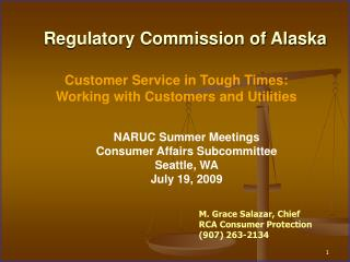 Regulatory Commission of Alaska
