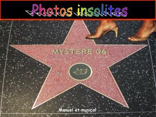 Photos insolites