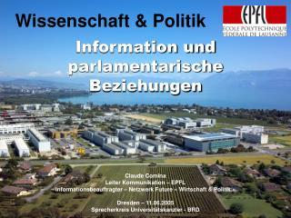 Wissenschaft & Politik