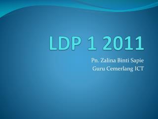 LDP 1 2011