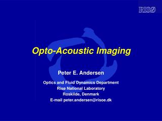 Opto-Acoustic Imaging