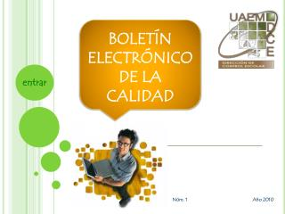 BOLETÍN  ELECTRÓNICO  DE LA  CALIDAD