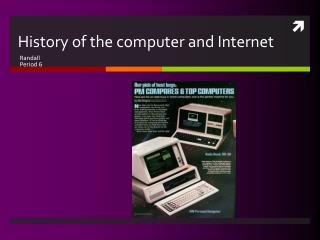 History of the computer and Internet