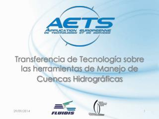 Transferencia de Tecnología sobre las herramientas de Manejo de Cuencas Hidrográficas