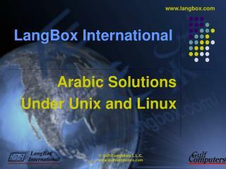 LangBox International