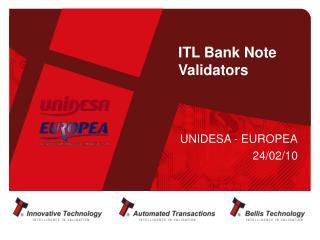 ITL Bank Note Validators